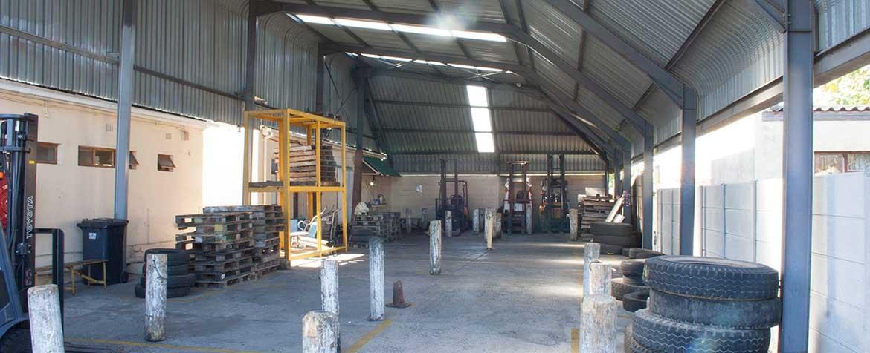 wheelman indoor forklift facilities
