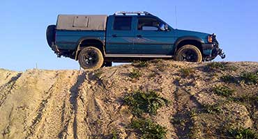 4x4 offroad driving course