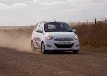 Gravel road advanced driving course