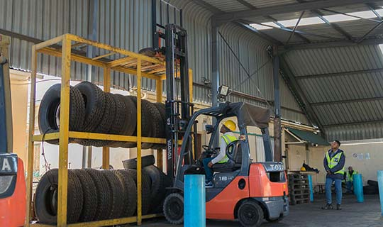 Forklift Counter Balance Lift Truck Training Course